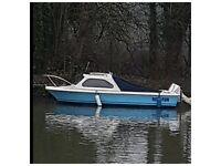 16ft skylark day/fishing boat