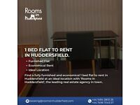 1 bed flat to rent huddersfield