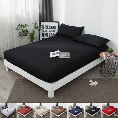 Waterproof Mattress Cover Pillow Case Cotton Mattress Protector Full Queen King (Bed King Pillow Protector)