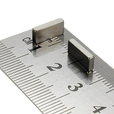 10x Strong Small Neodymium Bar Magnet 13 x 5 x 3mm Rare Earth Neo Block magnets