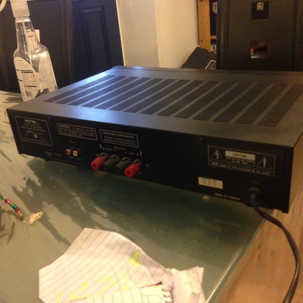 Rotel RB-970bx power amplifier bargain cheap quick sale