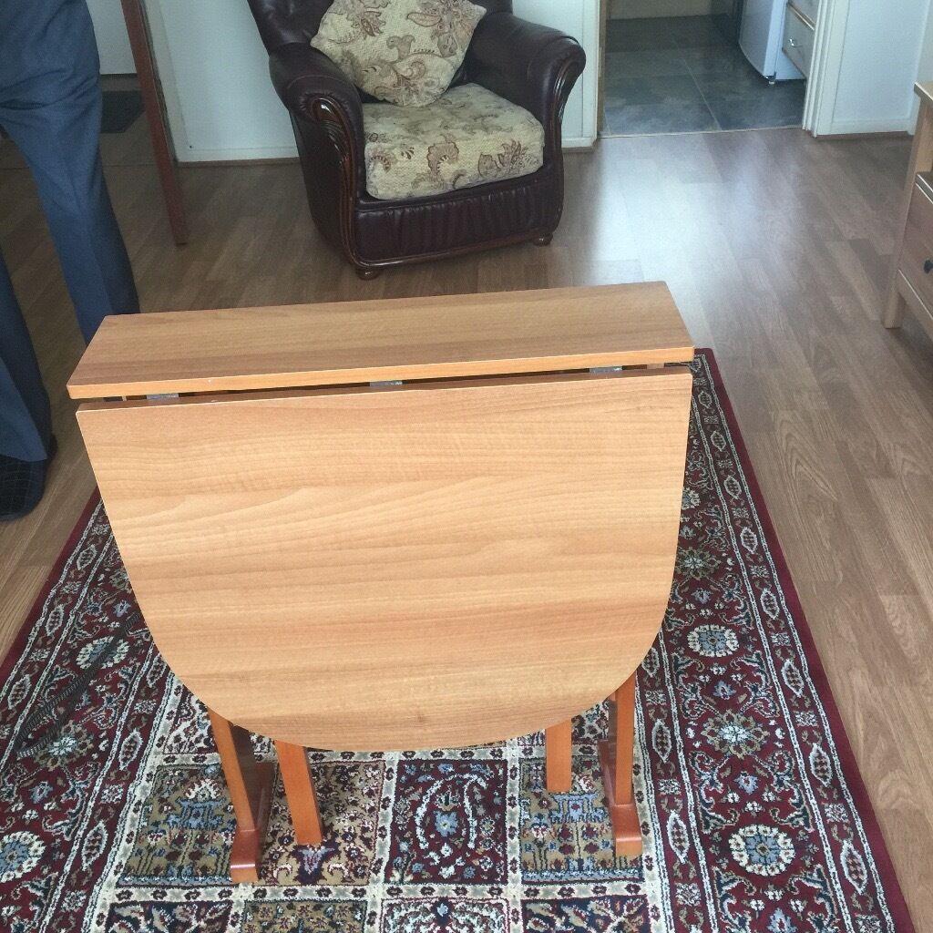 Vintage retro folding table
