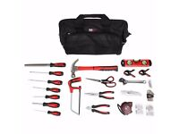 Tool Kit inc Tool Bag, 55 Piece Tool Set, New and Boxed by Forge Steel