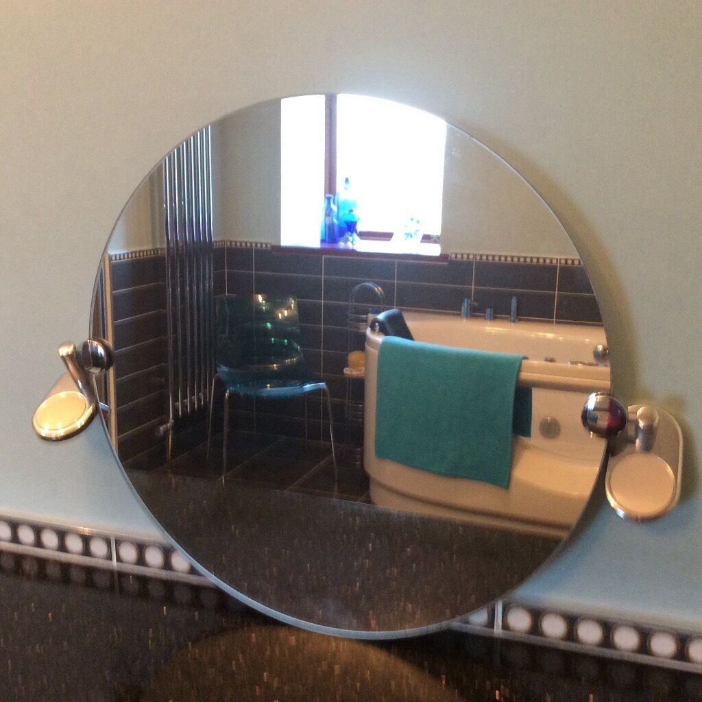 Bathroom Mirror Gumtree circular wall hung bathroom mirror 45 cm diameter | in ellon