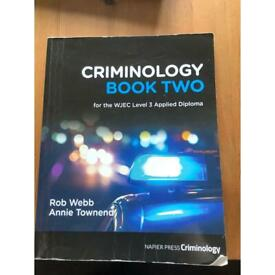 Criminology Book Two (2) for WJEC Level 3 Applied Diploma