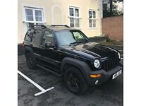 Jeep Cherokee sport Black 2003