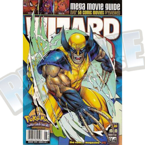 WIZARD THE COMIC MAGAZINE #96 COVER B VF