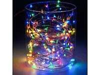 Dimmable 10M 100LEDs USB Christmas Indoor & Outdoor Strip Fairy Lighting