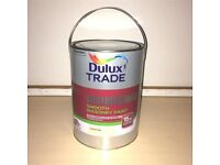 Dulux Trade Weathershield - Exterior - Smooth Masonry Paint - Sandstone - 5L - 12 Available