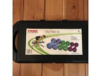 York Fitness 10kg Dumbbell Set