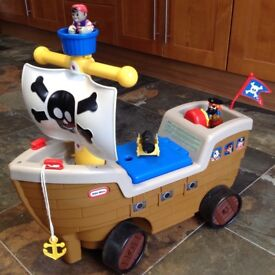 Little Tikes Play n Scoot ride-on Pirate Ship