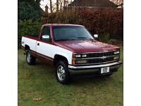 Chevrolet Silverado Pick-up Truck 1989 5.7l V8 - American Import