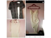 Loads of size 12 dresses and jumpers etc see photos for all pics some new with tags