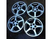 "Toyota MR2 15"" Alloy Wheel Set of 4"