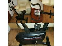 Home Exercise Bike, Mechanical Treadmill & Mini Stepper