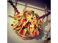 fruit hampers.. hampers and baskets of any sort