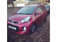 Kia Picanto - Pink, 12,200 miles, mint condition, safety features and reliable