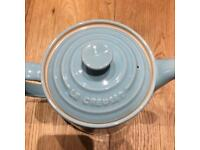 Le Creuset Grand Teapot, pale blue, NEW
