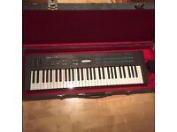 yamaha dx-27 synthesizer including sturdy flightcase