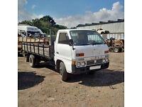 Left hand drive Isuzu TLD54 2.8 diesel 3.5 ton 6 tyres truck.