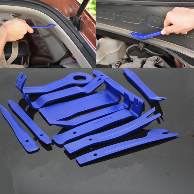 11x Car Trim Interior Door Dash Panel Clip Speakers CD Radio Removal Open Tool