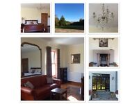 Nairn area - Private Kingsize Room, own entrance, ensuite, wifi - no bills, parking at door.