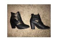 Size 8 women's boots from just fab