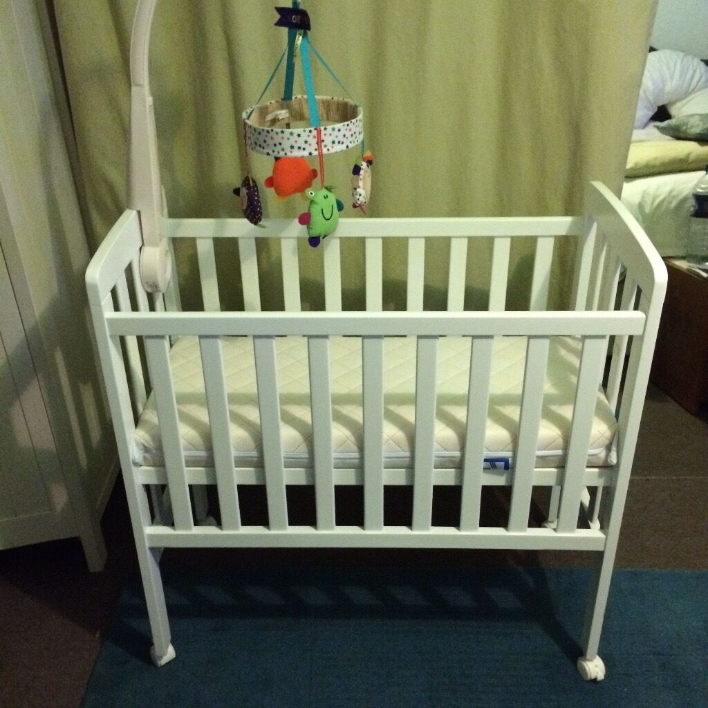 Baby cribs john lewis - Baby Dan Next To Bed Crib From John Lewis Excellent Condition