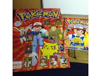 Pokemon sticker album 2000 complete with stickers and poster