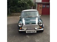 Lovely 1995 Mini Cooper for sale in British racing green