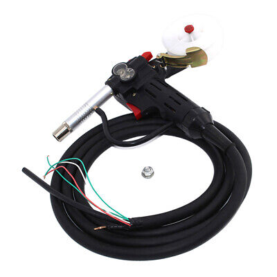 Co2 Mig Welding Gun Torch With 3m Cable Spool Gun Push Pull Feeder Accreeories