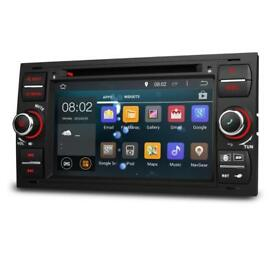 Android Car Double Din Stereo Headunit DVD Satnav Wifi pioneer ford