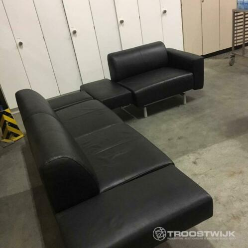 Stupendous Leather Sofa Black Vouwwagens Marktplaats Nl Caraccident5 Cool Chair Designs And Ideas Caraccident5Info