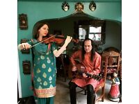 Book the UK's No. 1 Bollywood Violin Duo @ Weddings & Events UK-wide