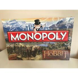 MONOPOLY The Hobbit An Unexpected Journey BRAND NEW.