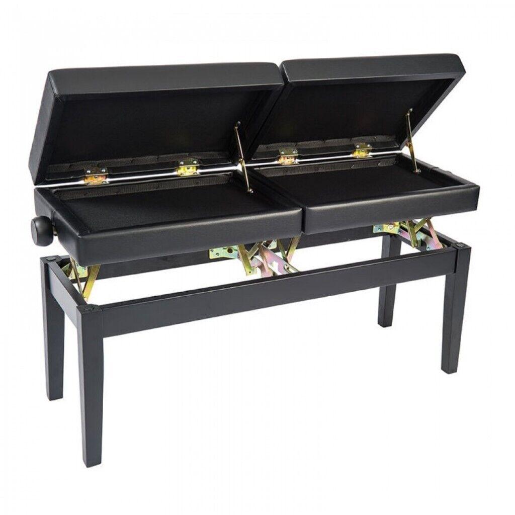 Kinsman KPB20BK Height Adjustable Duet Piano Stool | in Wimbledon, London |  Gumtree