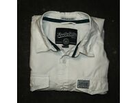 BEAUTIFUL SOFT WHITE SUPERDRY SHIRT, EXCELLENT CONDITION, XXL