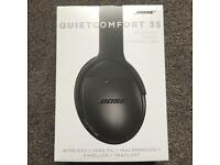 New Bose QC35 Quiet Comfort 35 Wireless Bluetooth Black Headphones