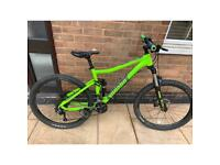 Voodoo minustor full suspension mountain bike