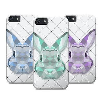 Geometrische Dreieck Hase Bunny Pet Tier Design für Passt Iphone 5S/5C CASE