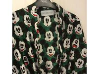 Mickey Mouse dressing gown one size fits all