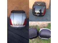Piaggio Vespa gt 125 250 300 back box