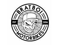 Project/Accident Damaged/MOT failure Motorbikes wanted - Honda Yamaha Suzuki - Bratboi Motorbikes