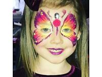 Face painter for all occasions!