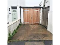 Garage and Driveway for Rent - Central Brighton - Hanover Street