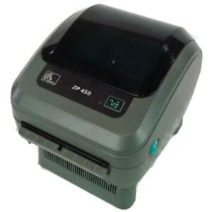 Zebra ZP450 - Direct Thermal POS Label Printer - Ethernet & USB - ZP450-0201-0000A