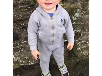 Ralph lauren tracksuit & Lacoste polo shirt age 1