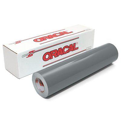 ORACAL 651 Outdoor Permanent Vinyl - TELEGREY 12in x 10ft Roll