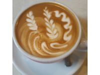Experienced Barista / waiting staff wanted for full time!