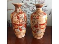 Pair of Japanese Vases - lovely!